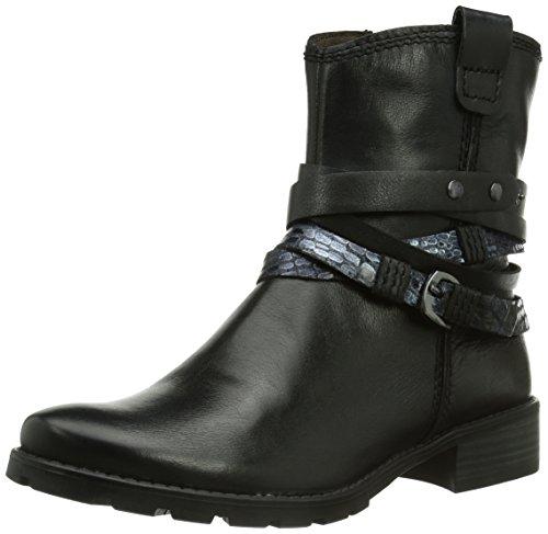 Tamaris Damen 25374 Biker Boots, Mehrfarbig (Black Comb 098), 38 EU