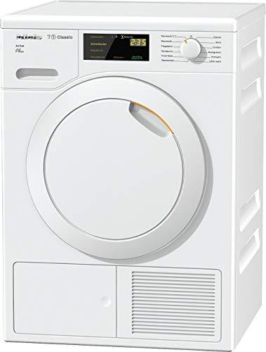 Miele TDB 220 WP Active Wärmepumpentrockner / Energieklasse A++ / 211 kWh/Jahr / mit geringem Energieverbrauch und Trocknungszeit / (7 kg) mit Knitterschutz und Startvorwahl