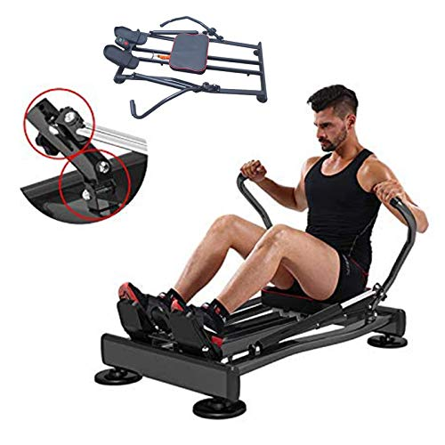 Fitness FLMD412N Rematore Row Rower Rowing Machine Vigatore Vocatore Vogatore Professionale Allenamento Casa Total Body Trainer Crossfit