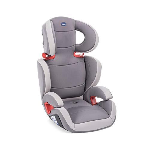 Chicco Key 23 Siège Auto Bébé Inclinable Groupe 2/3 pour Enfants de 3 à 12 ans, 15 à 36 kg, Facile à Installer, Réglable en Hauteur et en Largeur - Elégance