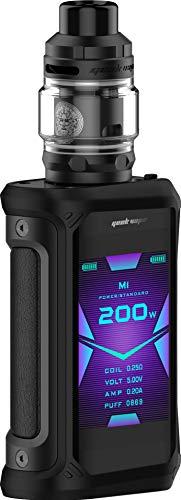 GeekVape Aegis X 200 Watt + Z Subohm 5ml Tank im E Zigarette Set - Farbe: schwarz