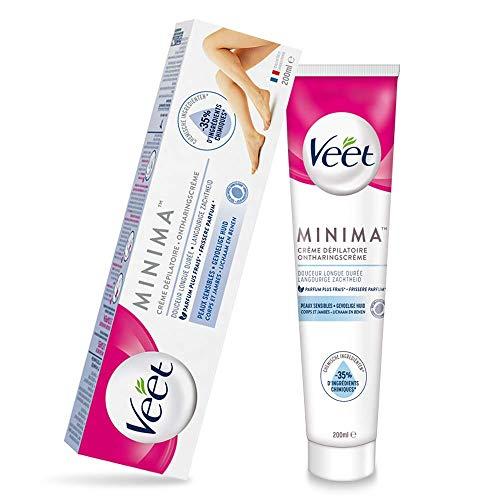 Veet Minima Crème Dépilatoire Peaux Sensibles - Le tube de 200ml