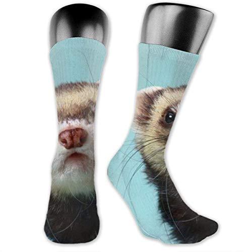 DYEURUR Pig Fashion Men & Women Calcetines Poliéster 3.2 X 15.8 pulgadas para niños Niñas Escuela Al aire libre Senderismo Cojín Comfort Sport Crew Calcetines, calcetines