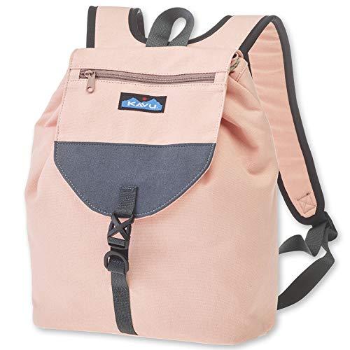 KAVU Satchel Pack Rucksack Travel, Hiking Backpack - Cherry Blossom