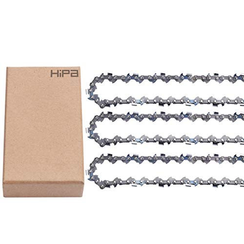 """3Pack 10"""" Pole Pruner Chain for Ryobi TP26 TP30 P540 P540A P540B P541 P542 P545 P546 CS1800 S20500 ZR15520 RY15520 RY40051 RY52001 RY52002 RY52003 RY52004 RY52014 RY52502 RY52604 RY52903 RY52907 Saw"""