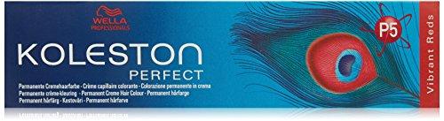 Wella Professionals Koleston Perfect Permanente CremeHaarfarbe, 77/ 43 mittel Blond intensiv rot, 1er Pack (1 x 60 ml)
