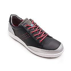Zerimar Men Golf Shoes | Men's sports shoes | Men Golf Shoes | Men's sports shoes | Men's Golf Shoes | Leather Golf Shoe |