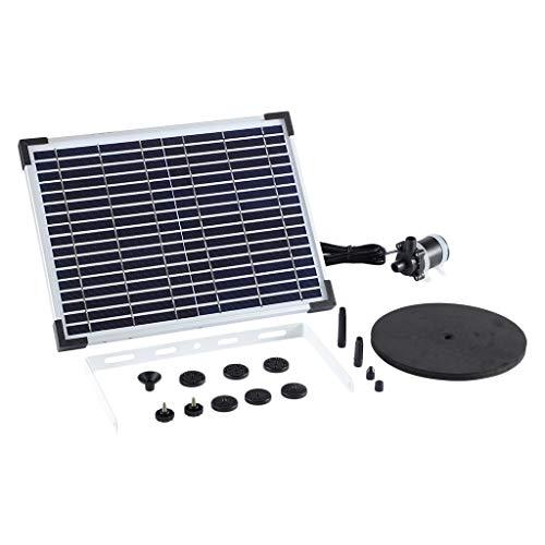 Baoblaze Bomba De Fuente Solar, para Fuente Flotante Solar 10W Kit De Fuente Sumergible para Baño De Aves, Tanque De Peces