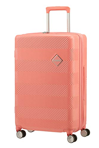 American Tourister Flylife Equipaje de Mano 67 Centimeters 82.5 Rosa (Coral Pink)