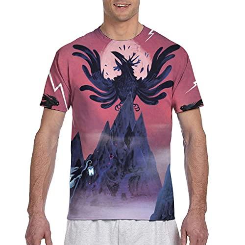 maichengxuan King Gizz-ard and Liz-ard Wizard - Camiseta de manga corta para hombre