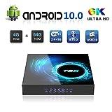 Android TV BOX, T95 Android 10.0 BOX 4GB RAM 64GB ROM H616 Quad