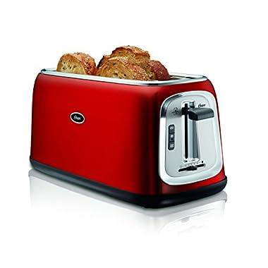Oster TSSTTRJB30R 4-Slice Long Slot Toaster