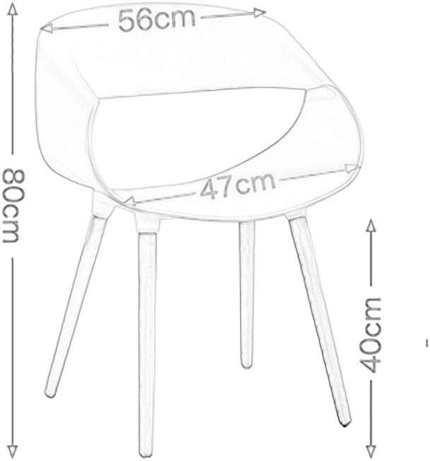 YANFEI Combinaison De Chaise De Salle À Manger, Style Nordique, 9 Couleurs, Y-205 (Color : B) D