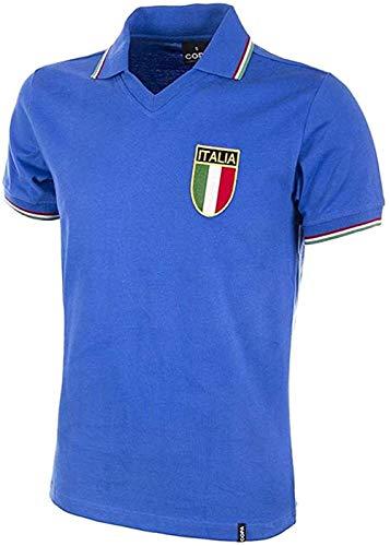 WM Italien Trikot Paolo Rossi, Italien 1982 WM Trikot Maglia Shirt, Herren Italien Retro Fußball T-Shirt, Italien Fußball Trikot (XL)