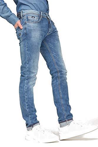 GAS Anders K Vaqueros Slim, Azul Claro, 44 (Talla del Fabricante: 31) para Hombre