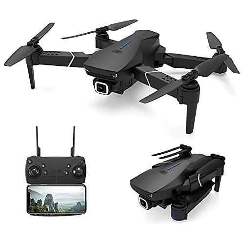 JJDSN Dron 4K con cámara, Dron Plegable, Adecuado para Principiantes Adultos, WiFi FPV RC Quadcopter Mantenimiento de Altura Modo sin Cabeza, una tecla Fuera del Suelo Control de la aplicación Tie