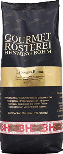 Gourmet Rösterei Henning Böhm Espresso Roma - ganze Bohne, 1000 g