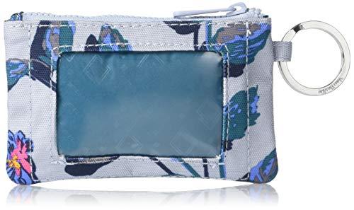 Vera Bradley Men's Recycled Lighten Up Reactive Zip ID Case Wallet, Neon Ivy, One Size