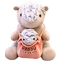 Padres E Hijos Juguetes Decoración Festival De Ornamento, Regalo De La Decoración De Peluche Rellenos Animal Linda Muñeca Presente Panda del Bebé Oso Hormiguero Oso Polar Canguro Erizo,A