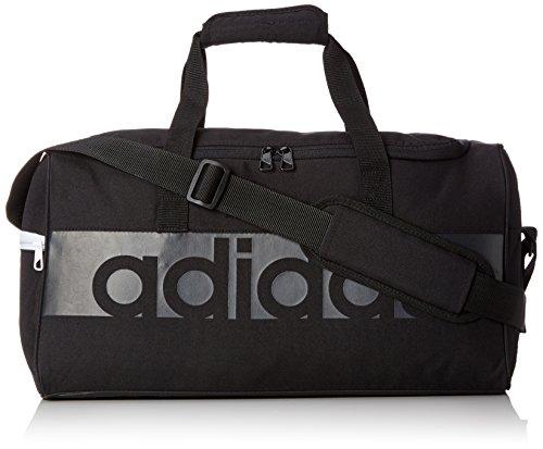 adidas Erwachsene Tiro Linear Team-Tasche, Black/Dark Grey, 22 x 57 x 30 cm, 37.6 L