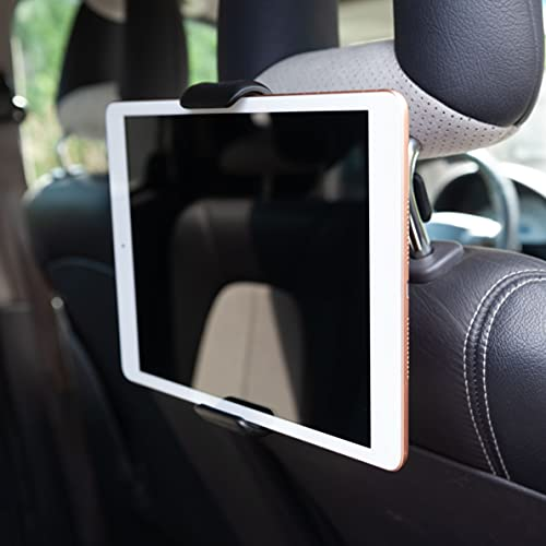 Soporte para Tableta de Coche Reposacabezas de Cuna Compatible con Kindle Fire 7 HD 8 10, Samsung Tab, iPad 10.2 Pro 9.7 10.5 12.9, iPad Air Mini 2 3 4, Switch, IdeaPad, Lenovo Yoga Tablet