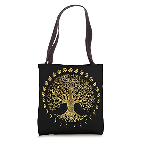 Tree of Life Phases of the Moon Gift Tote Bag