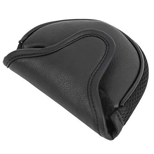 03 Golf Putter Schutzabdeckungen, wasserdichter Golf Putter Bag Guard, Golf Putter Kopfbedeckung, Hochwertig Praktisch für Messen Einweihungsparty(Black)
