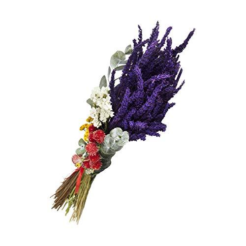 Lavanda Experience, Ramo de Flores Naturales Preservadas de Lavanda, Decorado con Perpetuina,...