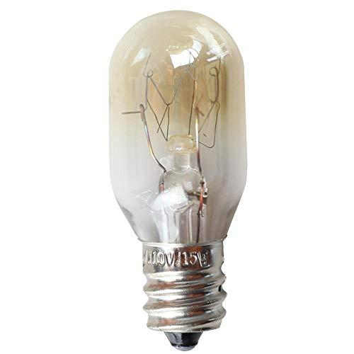 Edison Ledlampen, kaarsen, 10 stuks, E12 15 watt, koelkast, gloeilamp, wolfraam, warmwit, ligthing, 110 V, zoutkristallen lamp