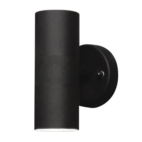 Konstsmide Modena 7571-750 wandlamp/B: 6 cm D: 9 cm H: 17 cm / IP44 / gelakt aluminium/matzwart