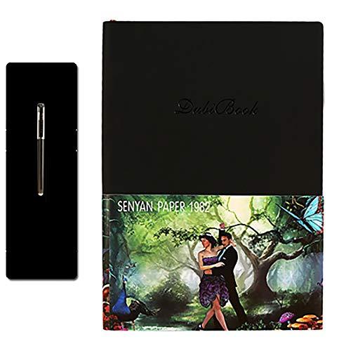 GJQDDP Intelligentes Notebook, intelligentes elektronisches Notebook kann umgeschrieben Werden. Notebook-APP für die Datensicherung kann mit Einem feuchten Tuch abgewischt Werden,D