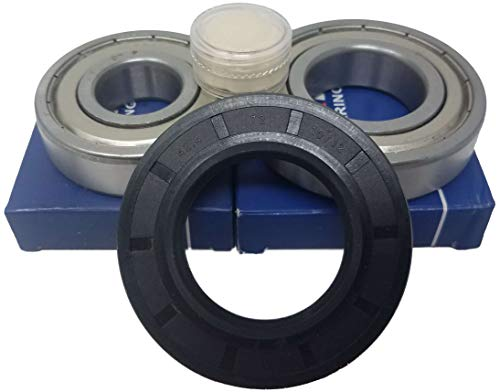 Juego de rodamientos de bolas 6207 ZZ 6305 ZZ, junta de eje, 42,4 x 72 x 10/12 lavadora Bosch logixx 8 1600 rpm Siemens WM 8 kg 1600 rpm