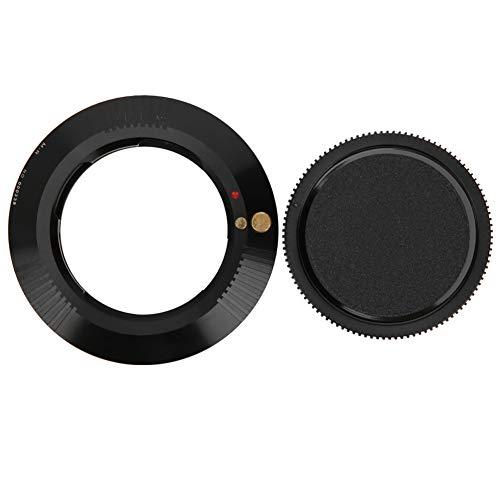Objektivhalterungsadapter, manueller Fokus M-EOS Objektiv an Kameraadapter anschließen, Objektivkonverterring für Leica M an Canon RP R R5