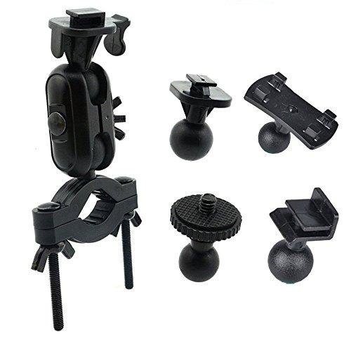 MyArmor ドライブレコーダー ホルダー スタンド 5種類アダプター付き 取付ブラケット 車/バイク/自転車にアクションカム/GPS/カーナビ等を固定