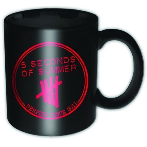 5 Seconds of Summer - Derping Stamp Boxed Mug - Tasse im Geschenkkarton