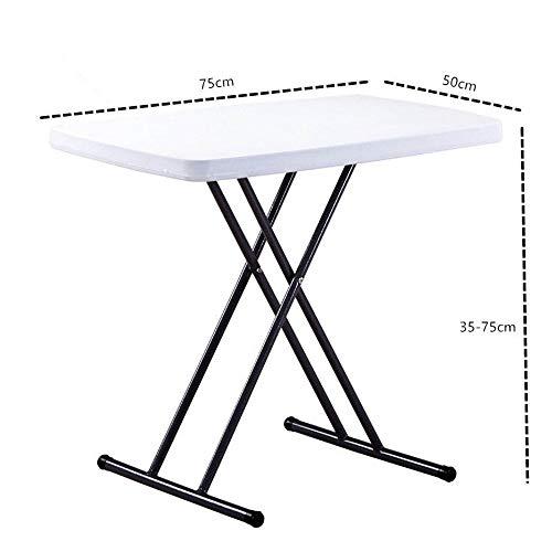 Bureau DD verstelbare hoogte vouwen Trestle tafel picknick/tuin/strand/camping/partijen | Max Load 200Kg | Gecoat staal + extra sterkte duurzaam plastic -Werkbank