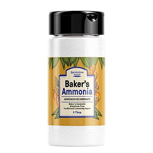 Ammonium Bicarbonate (5 Tbsp) Food Grade Baker's Ammonia, Aluminum-Free, Traditional Leavening Agent