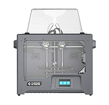 FlashForge 3D Printer  The New Creator Pro 2 with Independent Dual Extruder System 2 Free Spools of PLA Filaments Included N.W 1kg/Spool