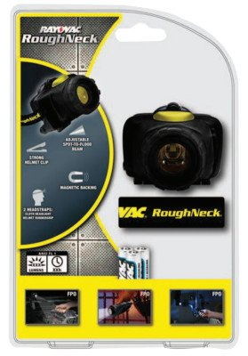 Roughneck 3AAA LED Headlight W/Cloth Head STRA
