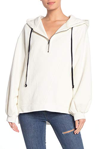 Free People Womens High Road Pullover (Ivory, X-Small)