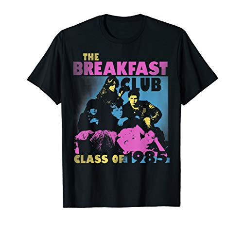 Breakfast Club Class Of '85 Stencil Portrait T-Shirt, 4 Colors for Adults, Kids, up to 3XL