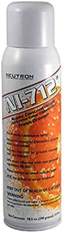 NI-712 Free shipping anywhere in the nation Odor Max 80% OFF Eliminator Orange Continuous 2 Cans Spray
