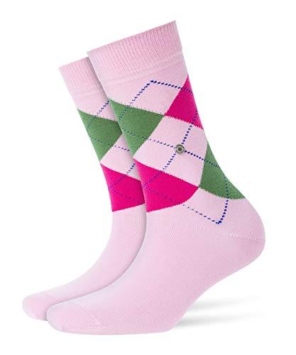 BURLINGTON Damen Socken Queen, Baumwollmischung, 1 Paar, Rosa (Marshmellow 8448), Größe: 36-41