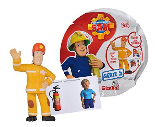 Simba 109251042 - Feuerwehrmann Sam Feuerwehrmann Sam melfiguren Serie 2 / 12-fach Sortierung / 5-7cm