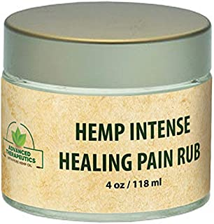 1500 Mg Hemp Seed Oil 4 Ounce Intensive Healing Hemp Gel with Arnica Oil. Alleviate Knee Pain, Back Pain and Shoulder Pain with Tea Tree Oil Infused Joint Pain Relief Cream Muscle rub and ache Cream