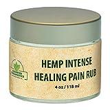 1500 Mg Hemp Seed Oil 4 Ounce Intensive Healing Hemp Gel with Arnica Oil. Alleviate Knee Pain, Back...