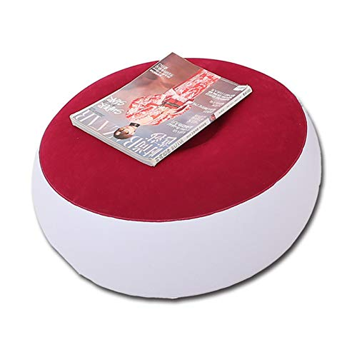 YOUANG Perezoso Inflable Plegable Sofá Reclinable Al Aire Libre Portátil Sofá Cama Pedal de Pie Flocado Solo Sofá Silla Pila Revestimiento Muebles de Dormitorio de Oficina