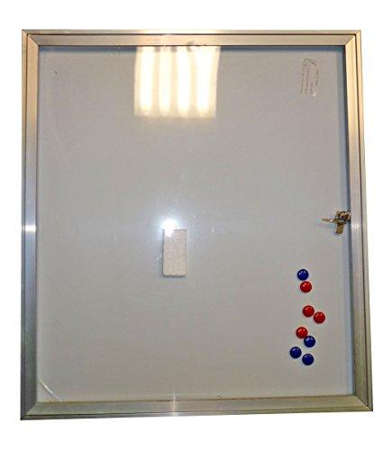 Schaukasten Infokasten mit Klapptür für außen 4x DIN A4