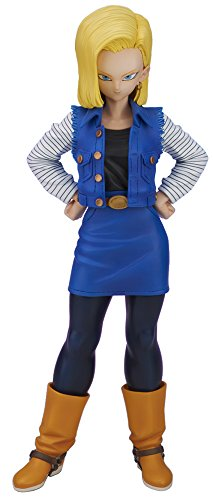 Gigantic Series Dragon Ball Z Android #18 Artificial Human Lazuli Complete Figure PLEX image