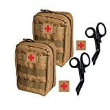 Krisvie Botiquín Médico Táctico EMT Botiquín de Primeros Auxilios, Botiquín Médico de Emergencia para la Familia,...
